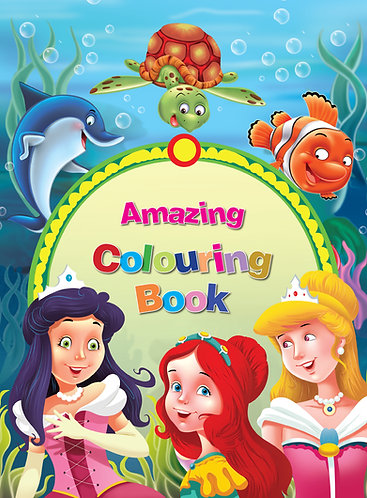 Amazing colouring book 2+1