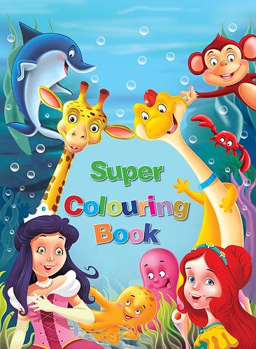 Super Colouring Book 4+1