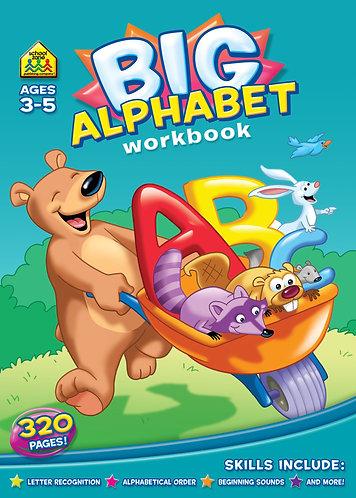 Big Alphabet Workbook(Age 3-5)