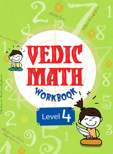 Vedic Math Workbook Level 4