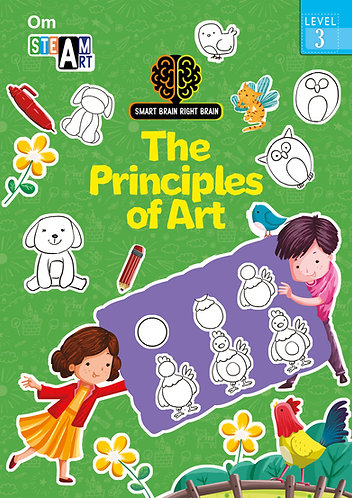 Smart Brain Right Brain: Science Level 3 The Principles of Art