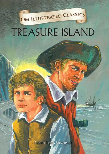 Treasure Island : Om Illustrated Classics