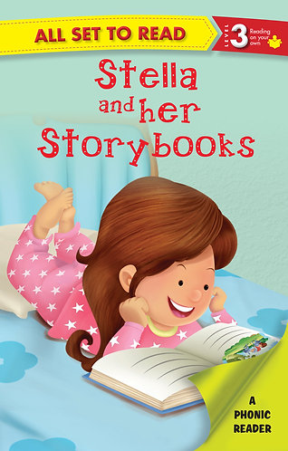 Stella and her Story Books : Phonic Reader