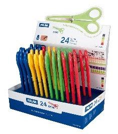 Scissors with plastic cover - Assorted Colour - 1Pc