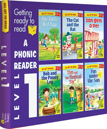 A Phonics Reader Level-1 Box