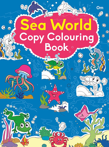 COPY COLOURING BOOK SEA WORLD