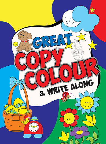 Great Copy Colour and Write Along (Binder)