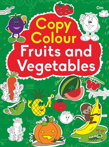 COPY COLOUR FRUITS AND VEGETABLES