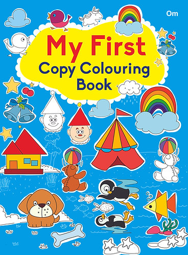 COPY COLOURING BOOK MY FIRST COPY COLOURING BOOK