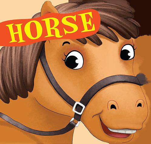 Horse : Cutout Board Book