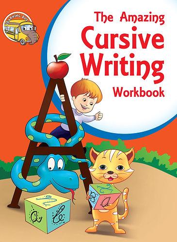 THE AMAZING Cursive Writing Workbook (Binder)