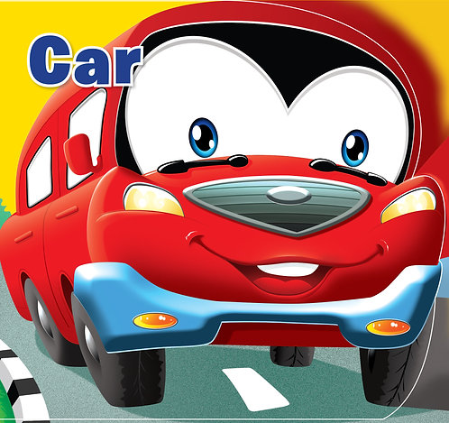 Car : Cutout Board Book