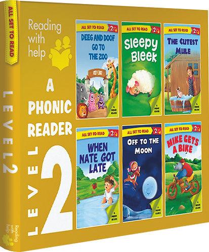 A Phonics Reader Level-2 Box