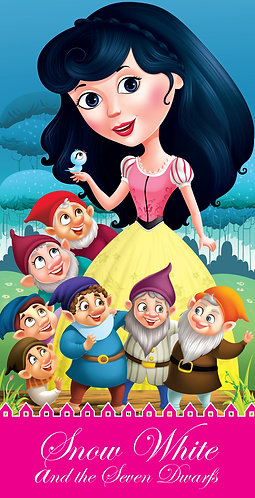Snow White and the Seven Dwarfs : Cutout Story Book