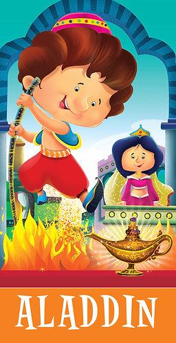 Aladdin : Cutout Story Book