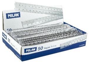 Tranparent Rulers 15 cm - 1Pc