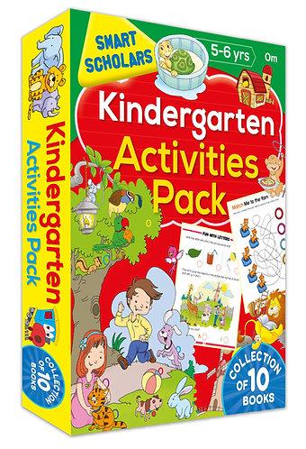 Kindergarten Activities Pack ( Collection of 10 books) (Smart Scholars)