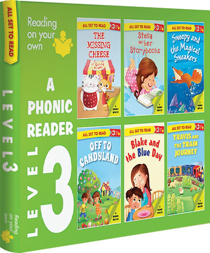 A Phonics Reader Level-3 Box