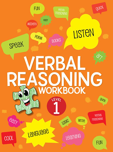 Verbal Reasoning Workbook Grade 1