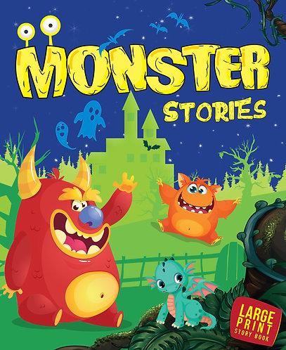 Monster Stories : Large Print