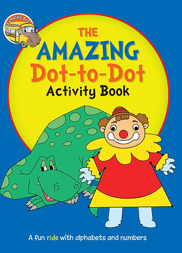 THE AMAZING Dot-to-Dot Activity Book (Binder)