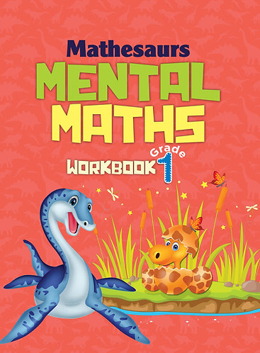 Mathesaurs Mental Math Workbook Grade -1