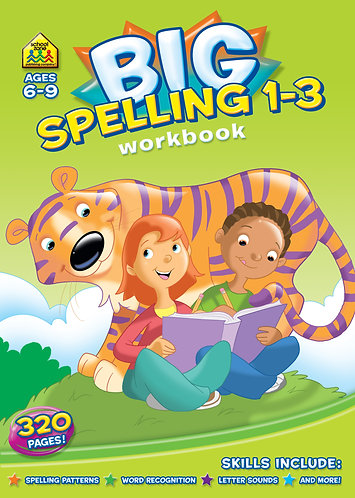 Big Spelling 1-3 workbook Ages 6-9