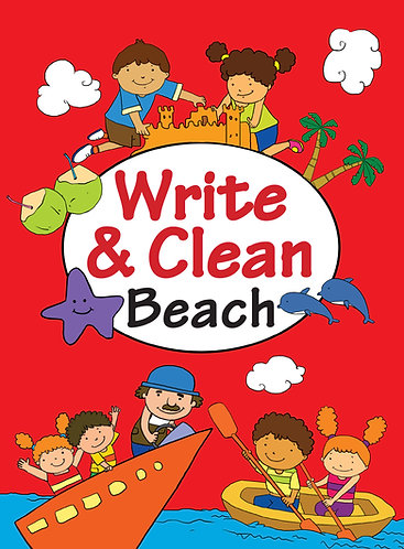 WRITE & CLEAN : BEACH