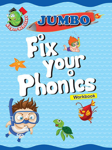 JUMBO Fix Your Phonics Workbook (Binder)