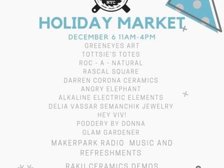 'Tis Da Season' to Shop at Makerspace Holiday Outdoor Market