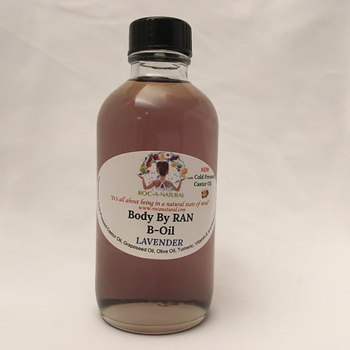 4oz B-Oil-LAV (LAV) w/Cold Pressed Castor Oil