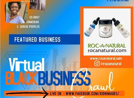 The Virtual Black Business Crawl, Saturday, July 25, 2020...