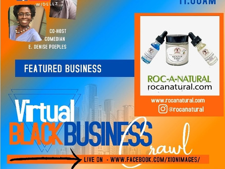 The Virtual Black Business Crawl, Saturday, July 25, 2020...