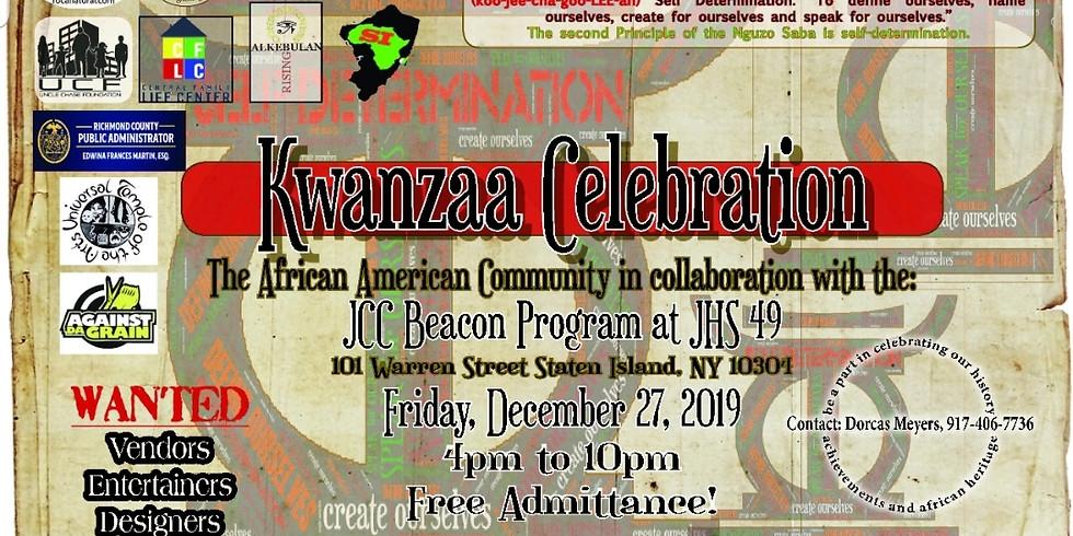 2019 Kwanzaa Celebration & Kujichagulia Marketplace