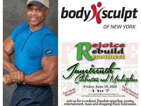 Thank you Vincent Ferguson,  President of Body Sculpt of New York, Inc and Six Weeks to Fitness