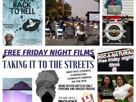 End of Summer Taking It To The Streets: Free Friday Night Films!