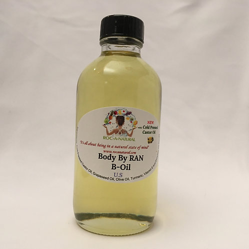 4oz B-Oil-U.S(US) w/Cold Pressed Castor Oil