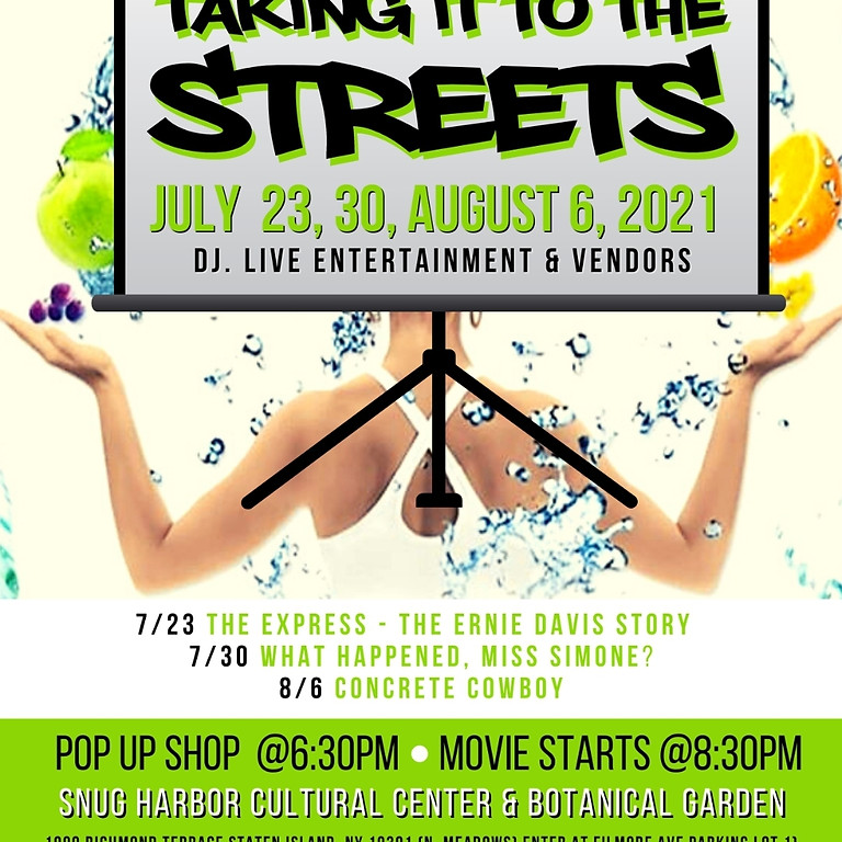 2nd Annual Taking It To The Streets: Free Friday Night Outdoor Films  (2)