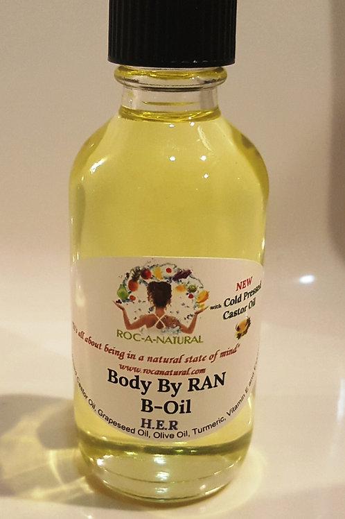 4oz B-Oil-H.E.R(HER) w/Cold Pressed Castor Oil