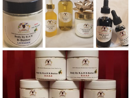 What's New and Exciting with Roc-A-Natural Body By R.A.N
