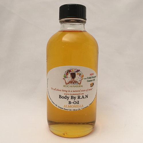 4oz B-Oil-ALMN w/Cold Pressed Castor Oil
