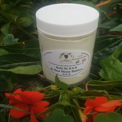 6oz B-Sea Moss Butter-H.E.R (H.E.R) w/Avocado
