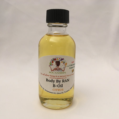 2oz  B-Oil-CITRUS(CIT) w/Cold Pressed Castor Oil