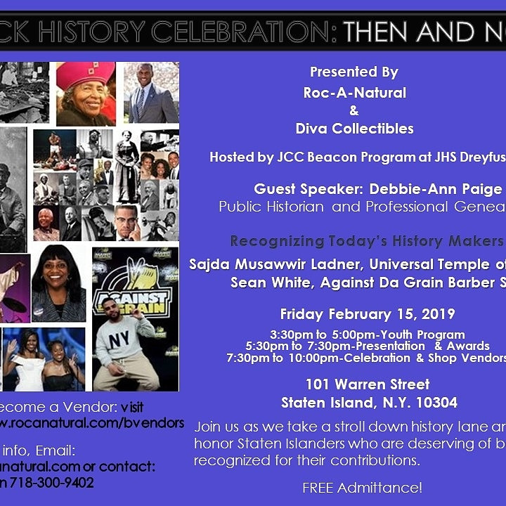 Black History Celebration: Then and Now