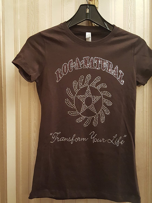 Rhinestone Transform Your Life T-shirt