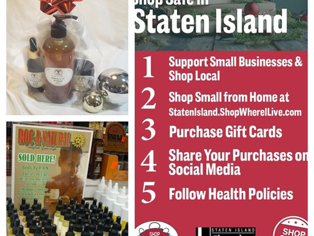 ROC'N Wednesday! Let Roc-A-Natural Help You with Your Last Minute Shopping