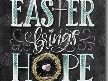 Happy Easter...A Time of Celebration and Recognition