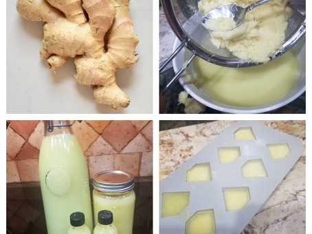 R.A.N Tip of the Week! Ginger Juice Anyone?