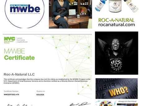 ROC'N Wednesday! M/WBE Certified