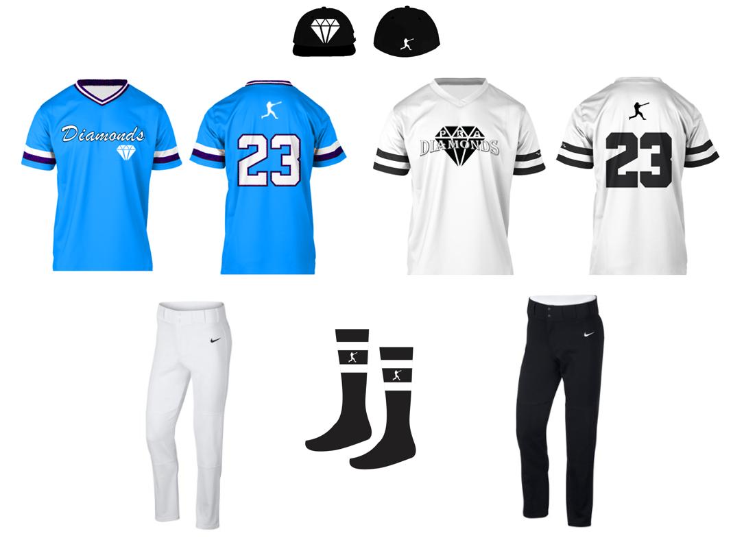 Diamonds Uniform Fall 2019